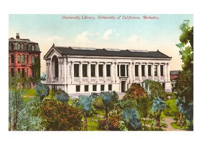 Library, University of California, Berkeley--Art Print