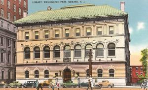 Library, Washington Park, Newark, New Jersey