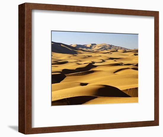 Libya, Fezzan, Edeyen Ubari, Near Ubari-Amar Grover-Framed Photographic Print