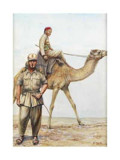 Libyan Military Police Officers, 1942--Giclee Print