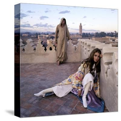 Vogue - January 1970 - Talitha and Paul Getty, Jr. in Morocco