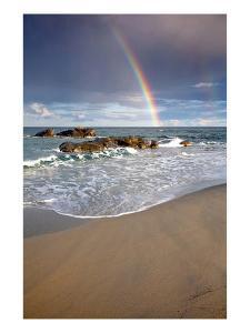 Lido di Orri Beach at Tortoli, Province of Ogliastra, Sardinia, Italy