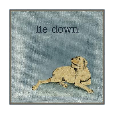Lie Down-Alicia Ludwig-Art Print
