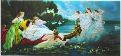 Liebeszauber-H. Clemens-Art Print