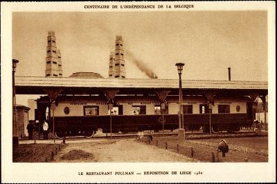 Liege, Weltausstellung 1930, Restaurant Pullman--Giclee Print