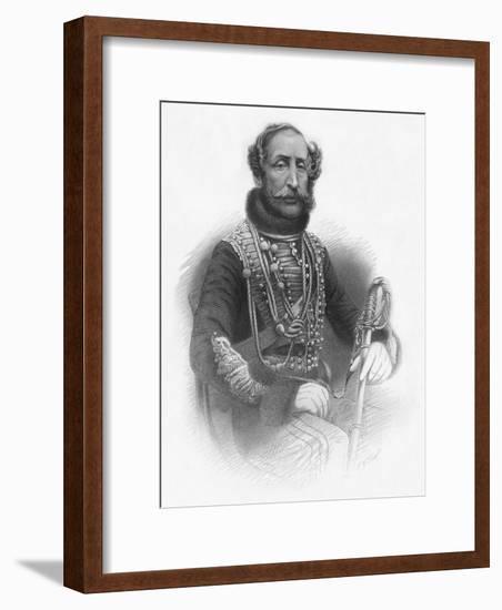'Lieut. Gen.The Earl of Cardigan', 1859-TW Knight-Framed Giclee Print