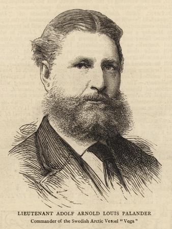 Lieutenant Adolf Arnold Louis Palander--Giclee Print