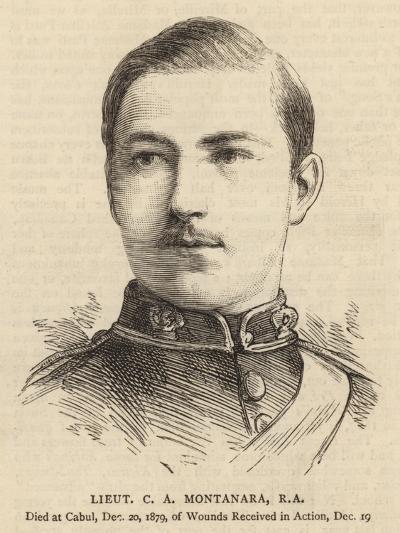 Lieutenant C A Montanara--Giclee Print