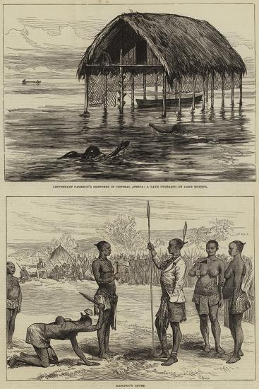 Lieutenant Cameron's Sketches in Central Africa--Giclee Print