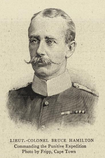 Lieutenant-Colonel Bruce Hamilton--Giclee Print