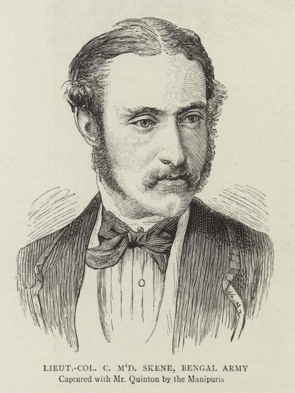 Lieutenant Colonel C M'D Skene, Bengal Army--Giclee Print
