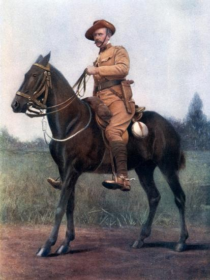 Lieutenant-Colonel Edward Bethune, Commanding Bethune's Mounted Infantry, 1902-Earl de la Warr-Giclee Print