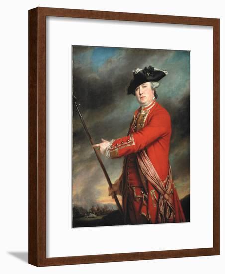 Lieutenant Colonel Francis Smith (1723-91) 1764-Francis Cotes-Framed Premium Giclee Print