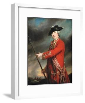 Lieutenant Colonel Francis Smith (1723-91) 1764-Francis Cotes-Framed Giclee Print
