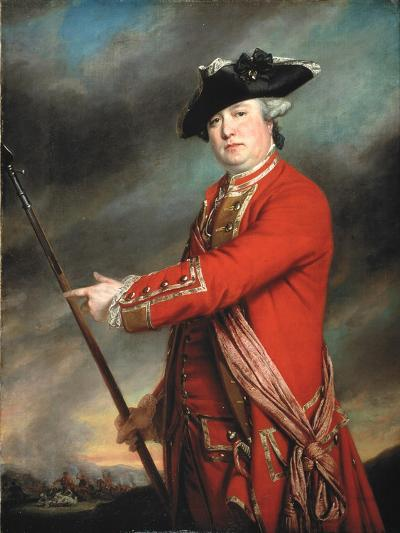 Lieutenant Colonel Francis Smith (1723-91) 1764-Francis Cotes-Giclee Print