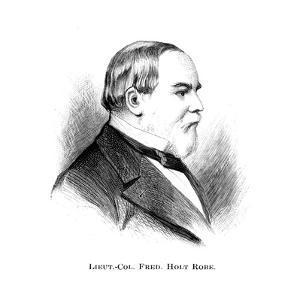 Lieutenant Colonel Frederick Holt Robe