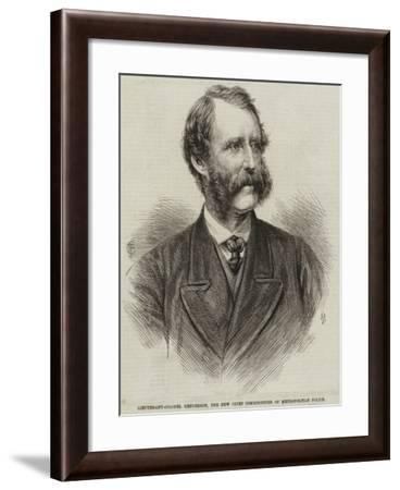 Lieutenant-Colonel Henderson, the New Chief Commissioner of Metropolitan Police--Framed Giclee Print