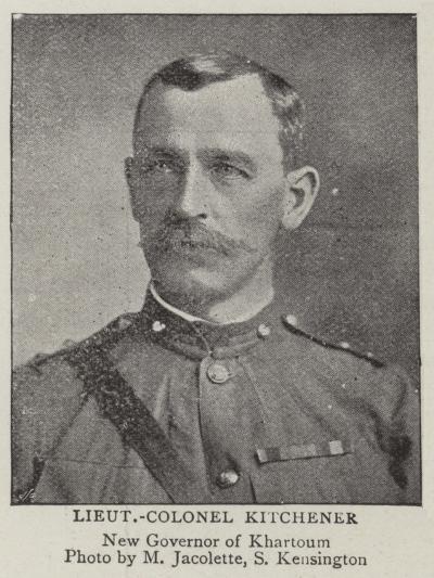 Lieutenant-Colonel Kitchener--Giclee Print