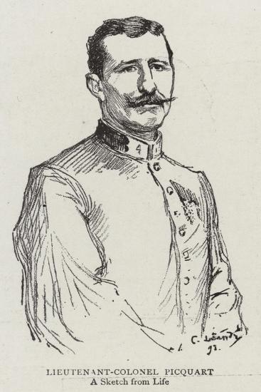 Lieutenant-Colonel Picquart--Giclee Print