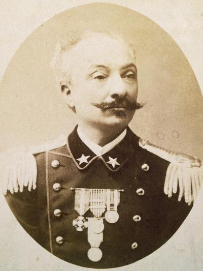 Lieutenant Colonel Tommaso De Cristoforis (Casale Monferrato--Giclee Print