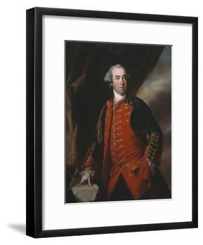 Lieutenant Colonel William Phillips (1731-81) 1764-Francis Cotes-Framed Giclee Print
