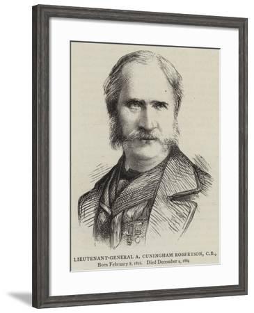 Lieutenant-General a Cuningham Robertson--Framed Giclee Print