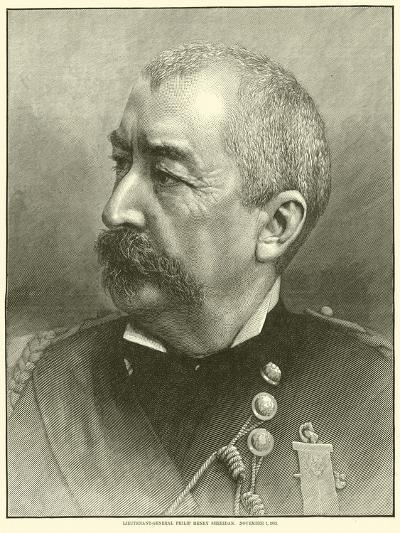 Lieutenant-General Philip Henry Sheridan, 1 November 1883, May 1864--Giclee Print