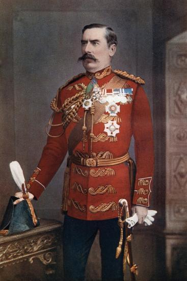 Lieutenant-General Sir Baker Creed Russell, Commanding Southern District, 1902-Maull & Fox-Giclee Print
