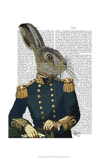 Lieutenant Hare-Fab Funky-Art Print