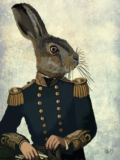 Lieutenant Hare-Fab Funky-Premium Giclee Print