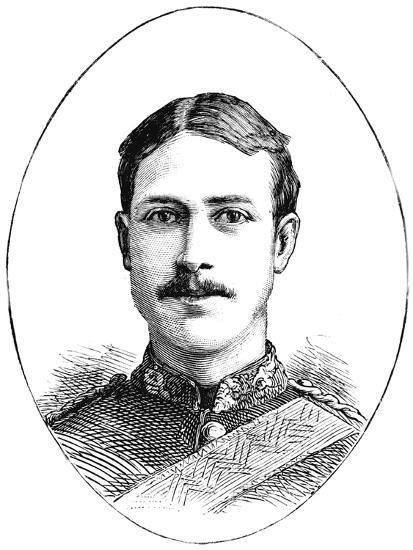 'Lieutenant Henry Gribble, 3rd Dragoon Guards', c1882-Unknown-Giclee Print