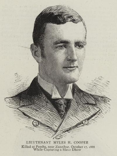 Lieutenant Myles H Cooper--Giclee Print