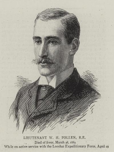 Lieutenant W H Pollen--Giclee Print