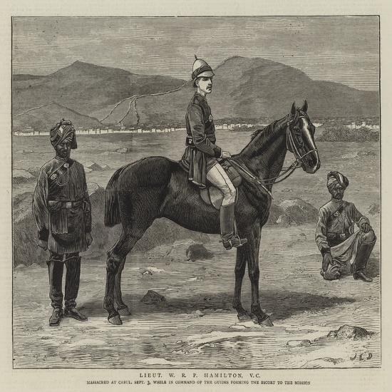 Lieutenant W R P Hamilton-John Charles Dollman-Giclee Print