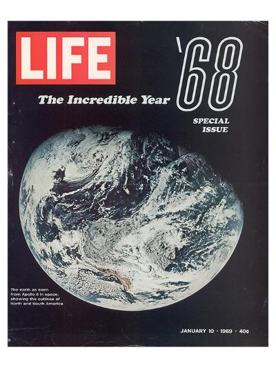 LIFE '68 the incredible year--Art Print