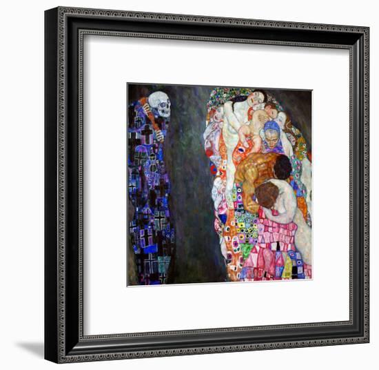 Life and Death (Tod Und Leben)-Gustav Klimt-Framed Giclee Print