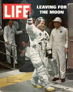 LIFE Armstrong Leaving for Moon