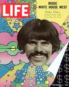 LIFE Artist Peter Max 1969
