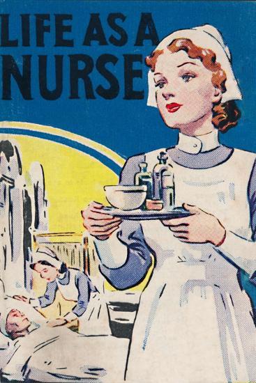 'Life as a Nurse', 1940-Unknown-Giclee Print