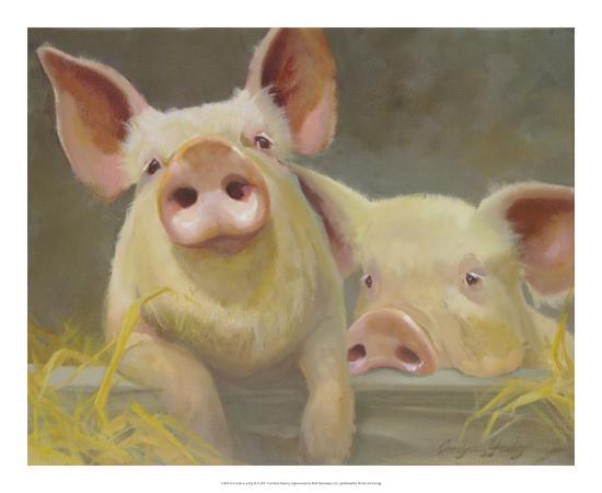 Life as a Pig II-Carolyne Hawley-Art Print