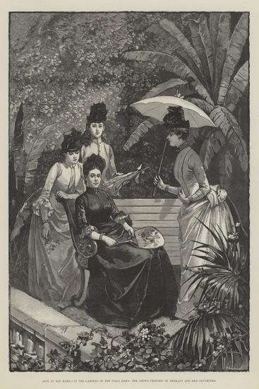 Life at San Remo--Giclee Print