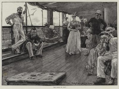 Life at Sea on an Australian Liner-William Hatherell-Giclee Print
