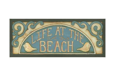 Life at the Beach-Kim Lewis-Art Print