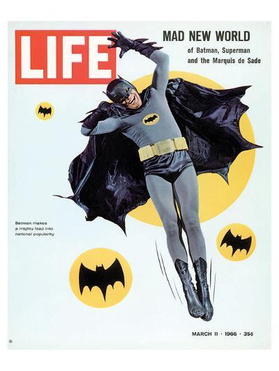 LIFE Batman Mad New World 1966--Art Print