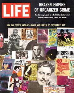 LIFE Big Poster Hang up 1967