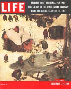LIFE Bruegel's Xmas Paintings