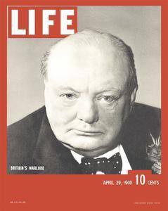 LIFE Churchill Britain's Warlord