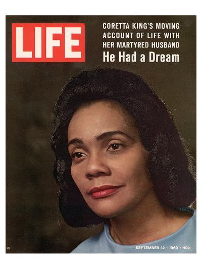 LIFE Coretta 'He had a dream'--Art Print