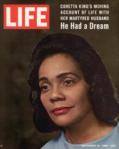 LIFE Coretta 'He had a dream'
