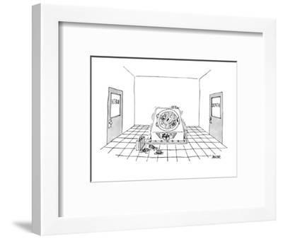 Life Cycle' - New Yorker Cartoon-Jack Ziegler-Framed Premium Giclee Print
